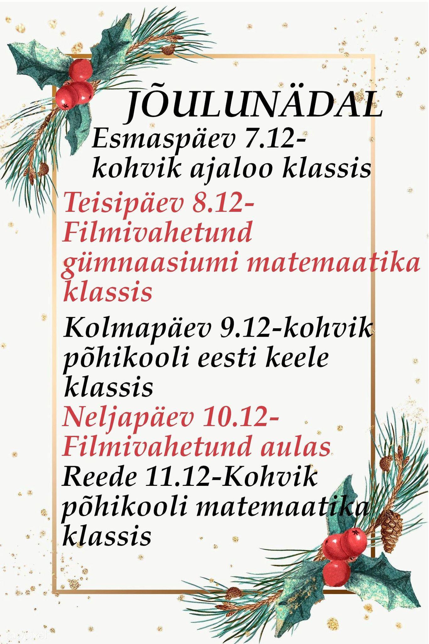 Jõulunädal