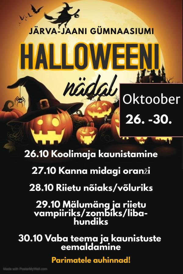halloweeni nädal