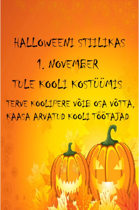 Halloweeni stiilikas