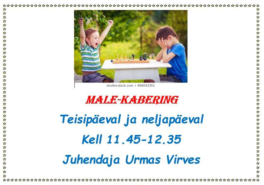 Male-kabering